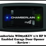 Chamberlain WD832KEV HP MyQ Enabled Garage Door Opener Review