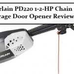 Chamberlain PD220 1-2-HP Chain Drive Garage Door Opener Review