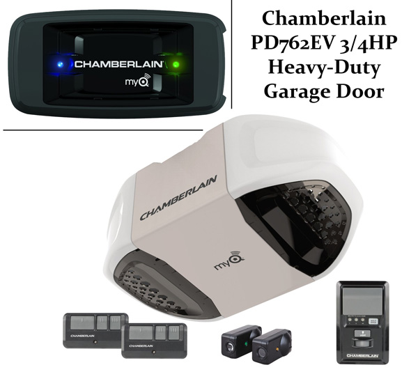 Chamberlain Pd762ev 34hp Heavy Duty Garage Door Opener Review