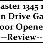 LiftMaster 1345 1/3 HP Chain Drive Garage Door Openers Review