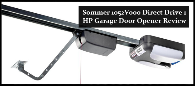 sommer 1052v000 direct drive 1 hp garagedoor opener review