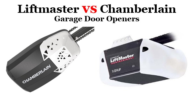 Liftmaster Vs Chamberlain Garage Door Openers
